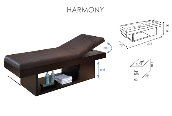 Table de massage lectrique harmony - Table de massage electrique pas cher ...