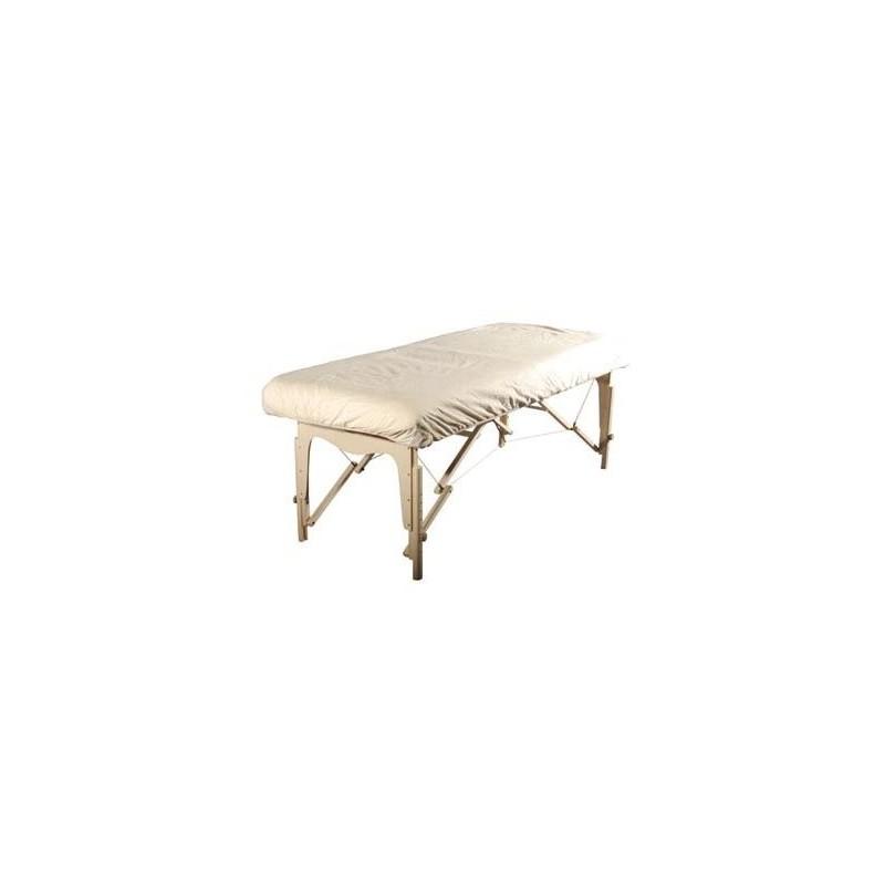 housse table de massage en flanelle avec trou visage. Black Bedroom Furniture Sets. Home Design Ideas