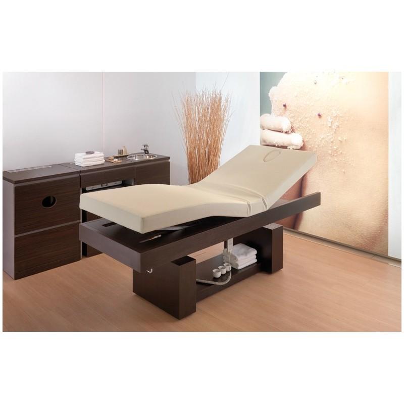 table de massage lectrique king open square. Black Bedroom Furniture Sets. Home Design Ideas