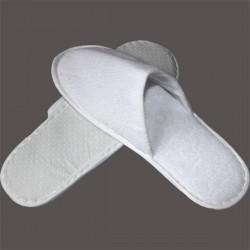 Chausson en tissu éponge fermé